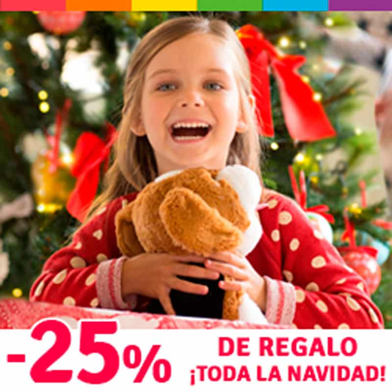 25% de regalo en Imaginarium