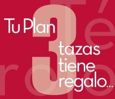 Mi Plan 3 Tazas con Té Rojo