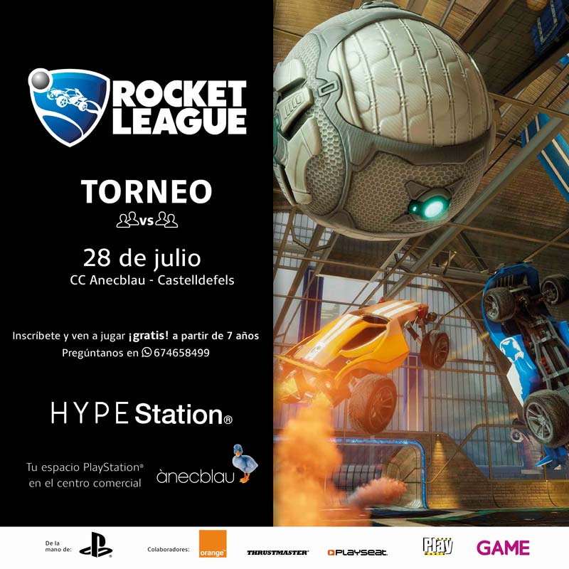 TORNEO ROCKET LEAGUE HYPE Station®