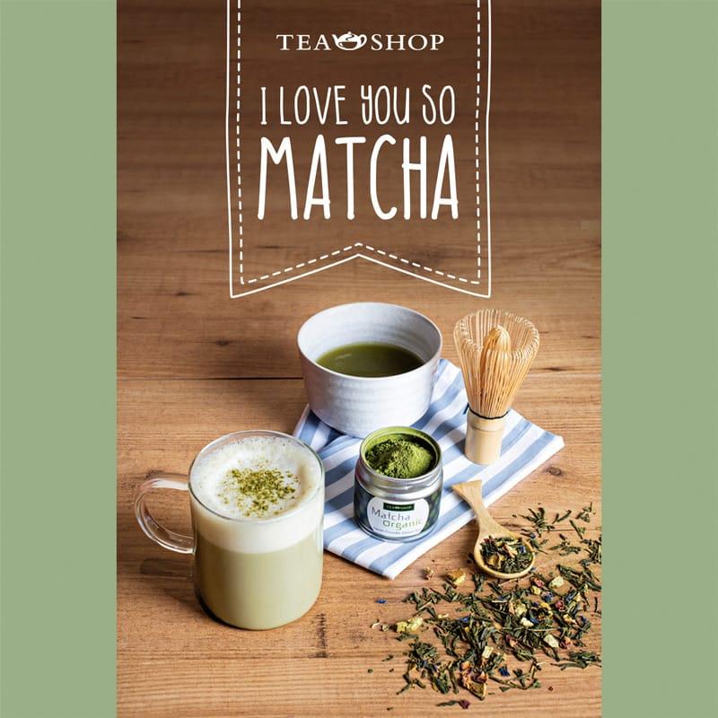 Campaña Matcha en Tea Shop