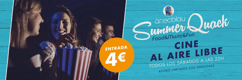 Cine de verano en Anecblau