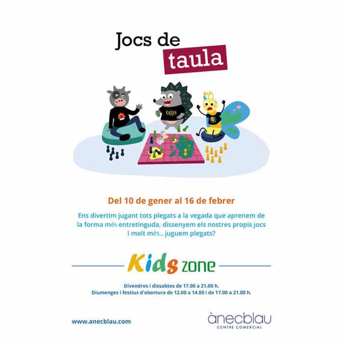KIDS ZONE – JOCS DE TAULA
