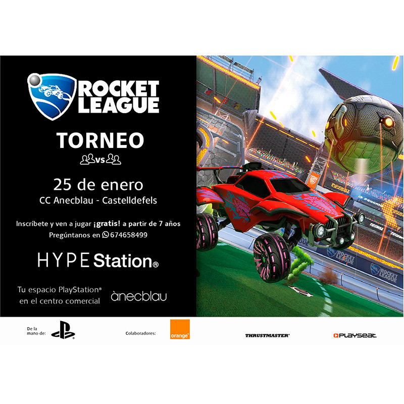TORNEIG ROCKET LEAGUE HYPE Station®