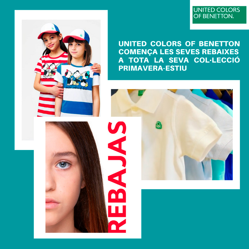 Promocions United Colors of Benetton Anecblau