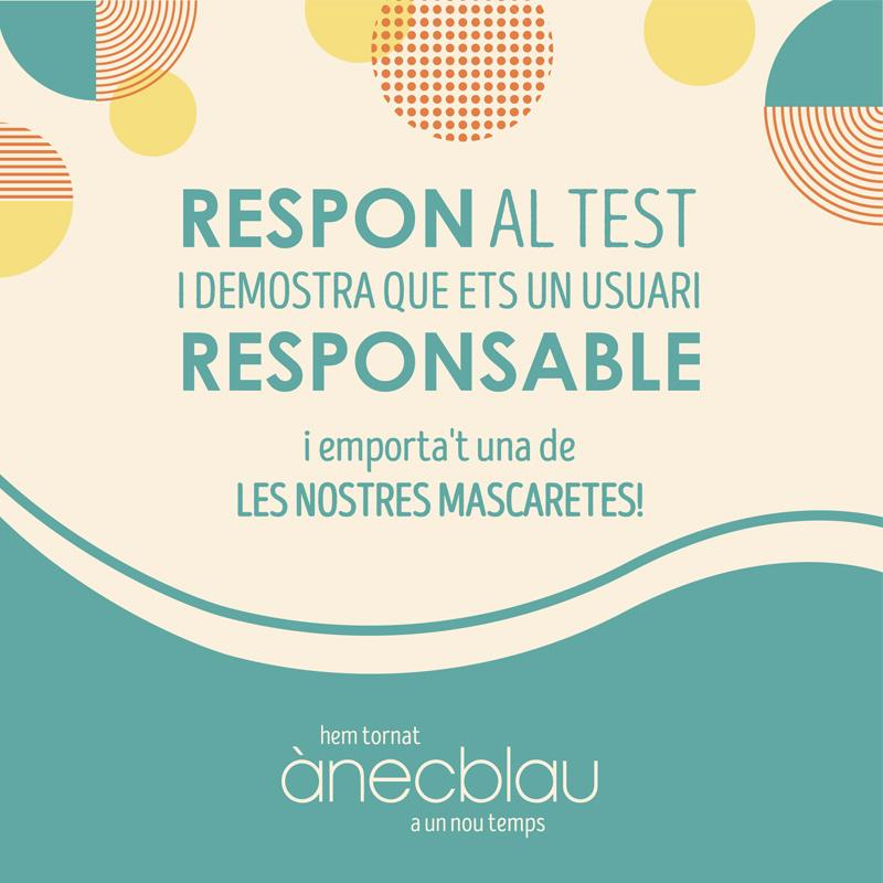 Aconsegueix el teu CERTIFICAT D'USUARI RESPONSABLE!