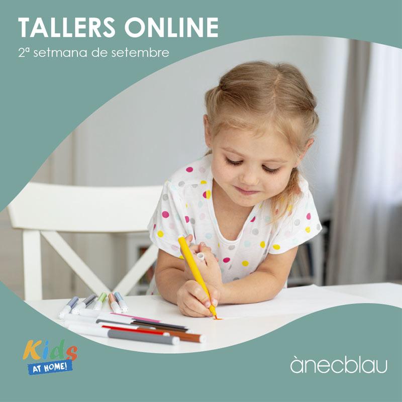Descobreix els tallers online de Kids at Home!