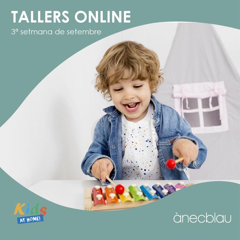 Descobreix les noves propostes de tallers Kids at Home!