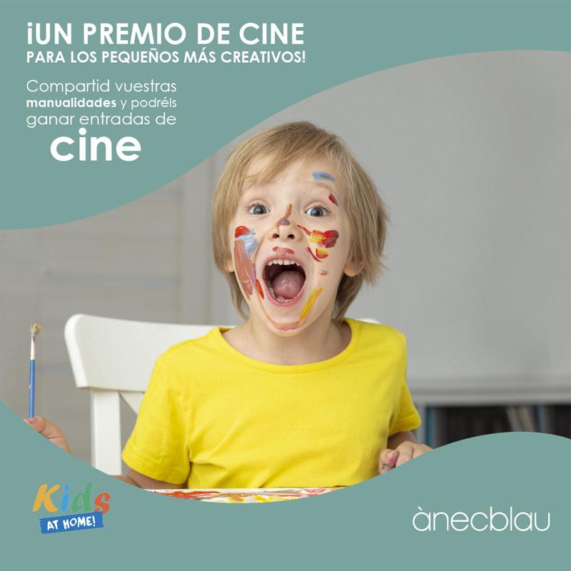 Un premio de cine para los pequeños más creativos