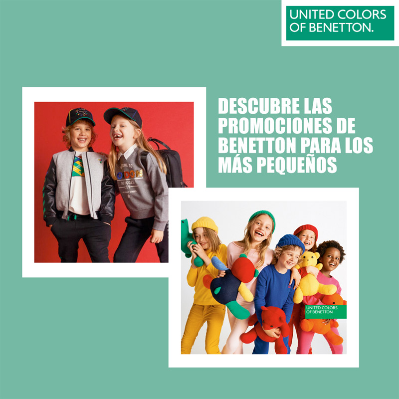Promociones United Colors of Benetton Anecblau