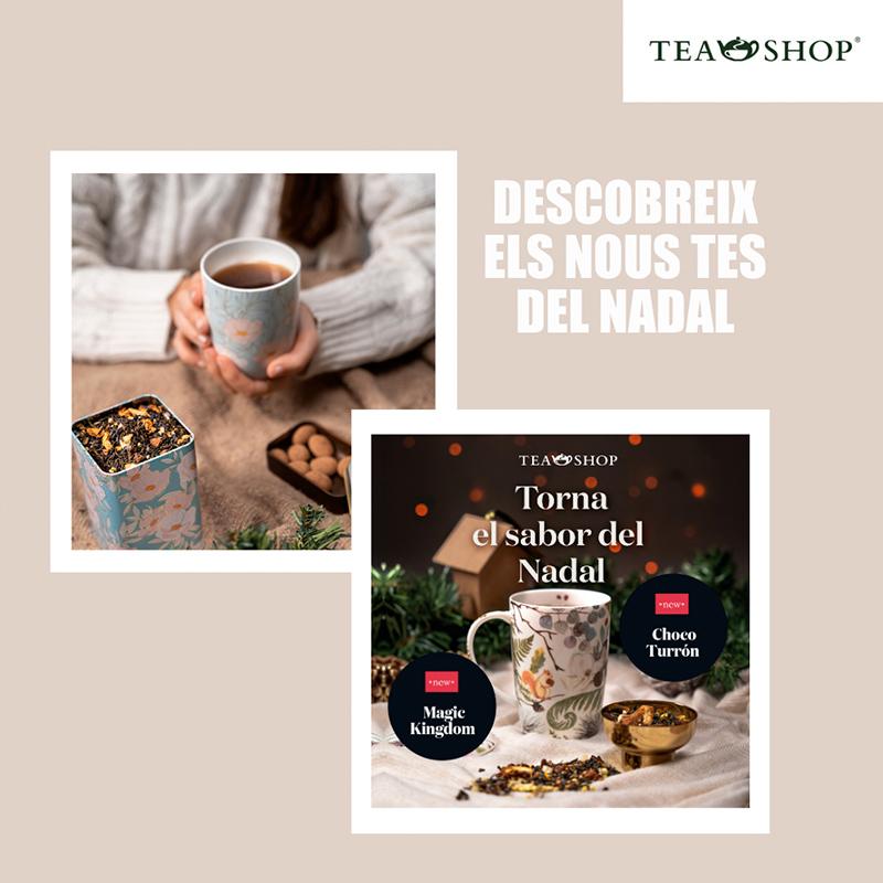 Promocions Tea shop Anecblau