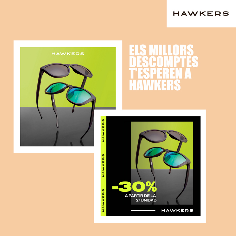 Promocions Hawkers Anecblau