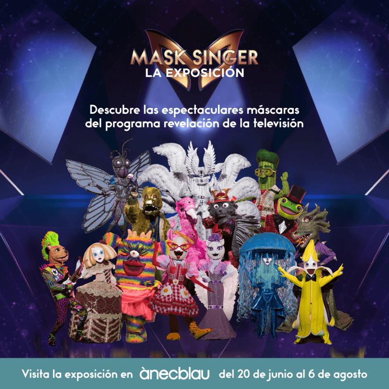 Mask Singer: La Exposición