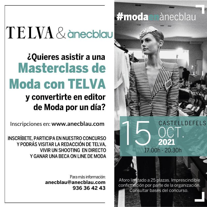Masterclass de MODA con TELVA
