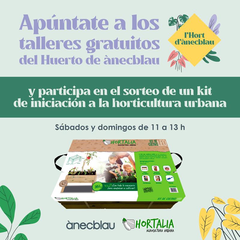 ¡Sorteo kit de iniciación a la horticultura urbana!